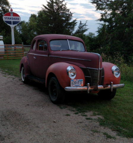 1940 Ford Coupe Deluxe Classic Ford Other 1940 For Sale