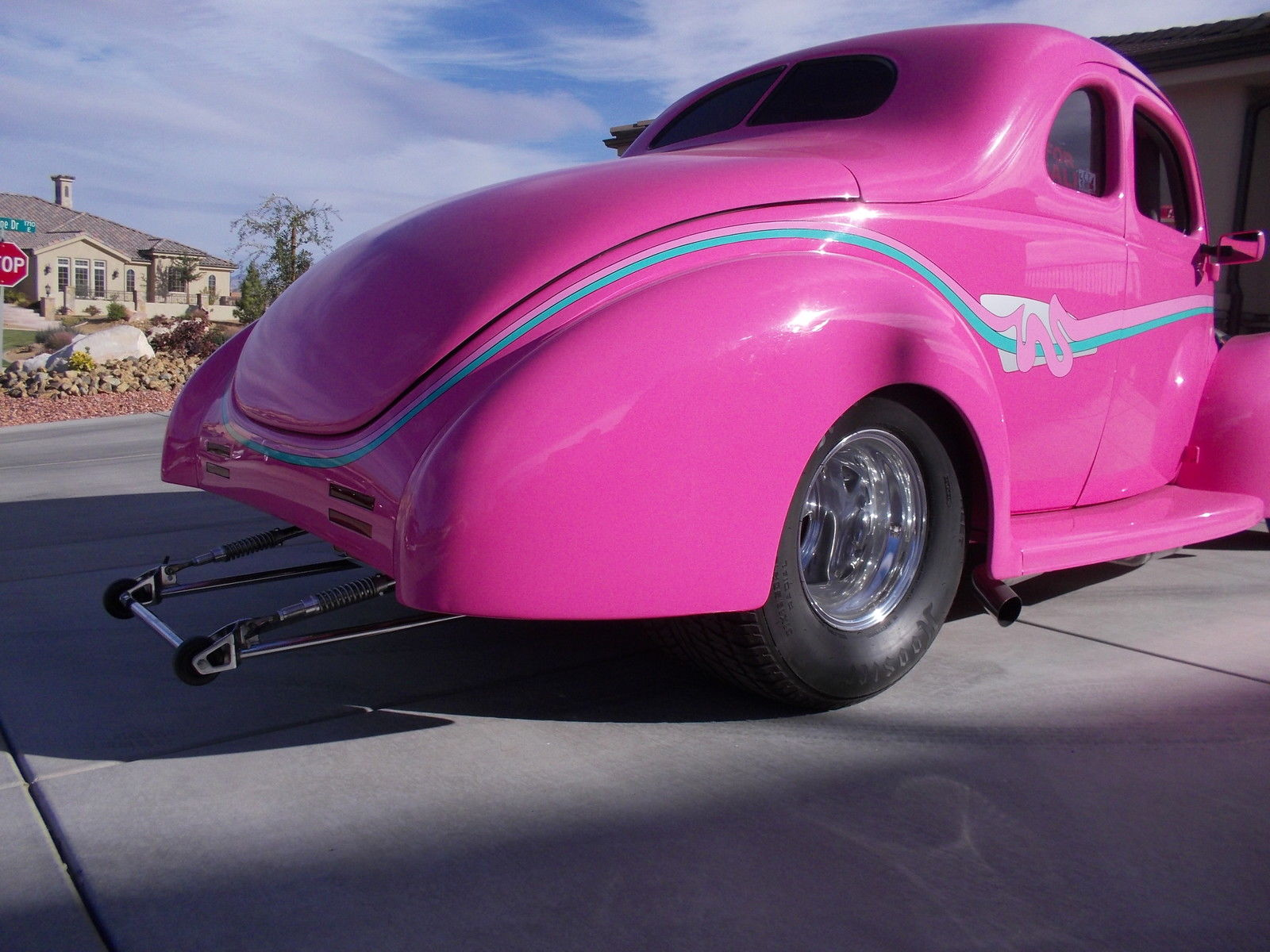 1940 Ford Coupe Standard Hot Rod Pro Street Legal