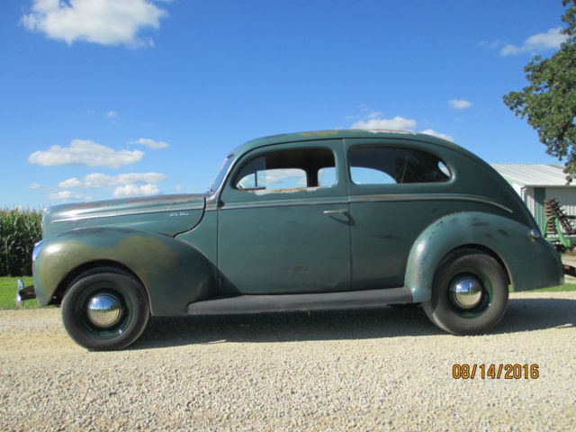 1940 ford deluxe 2 door sedan original scta nice car for Garage ford nice