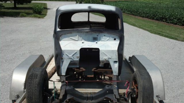 1940 Ford Deluxe Coupe Hot Rod Street Rod Number Matching Chassis