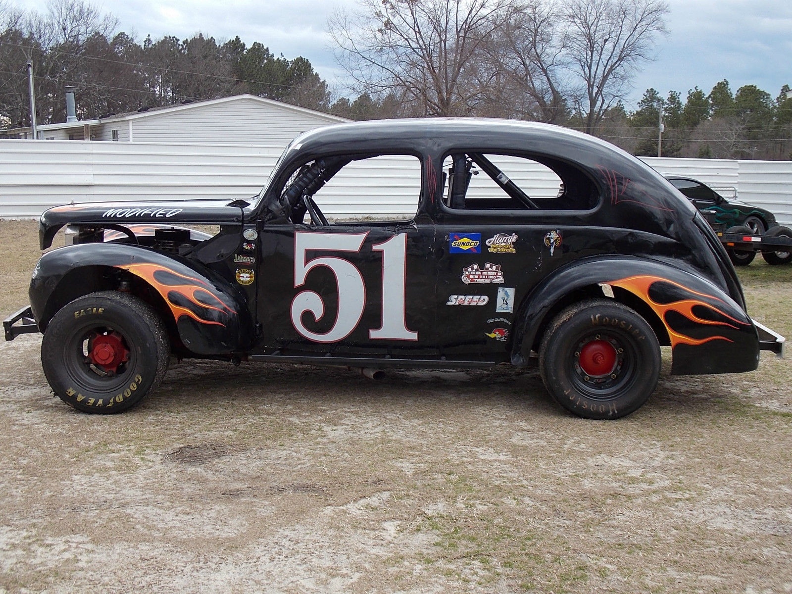 old late model dirt track cars