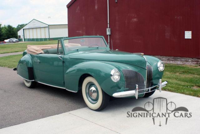 1940 lincoln continental cabriolet the rockefeller. Black Bedroom Furniture Sets. Home Design Ideas