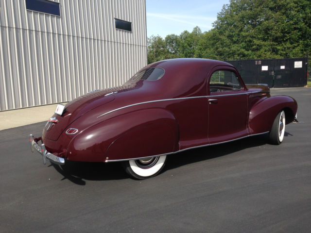 1940 Lincoln Zephyr V12 3 Window Coupe Classic Lincoln Zephyr