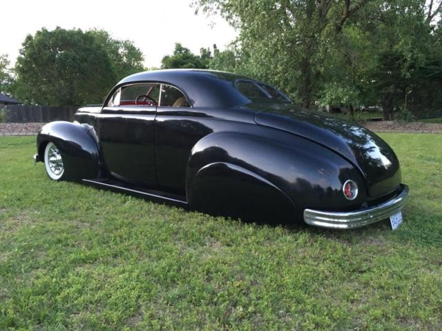 Mercury Coupe Kustom Custom Leadsled Tail Dragger Merc Ford Chevy Corvette on 1940 Cadillac V8 Engine