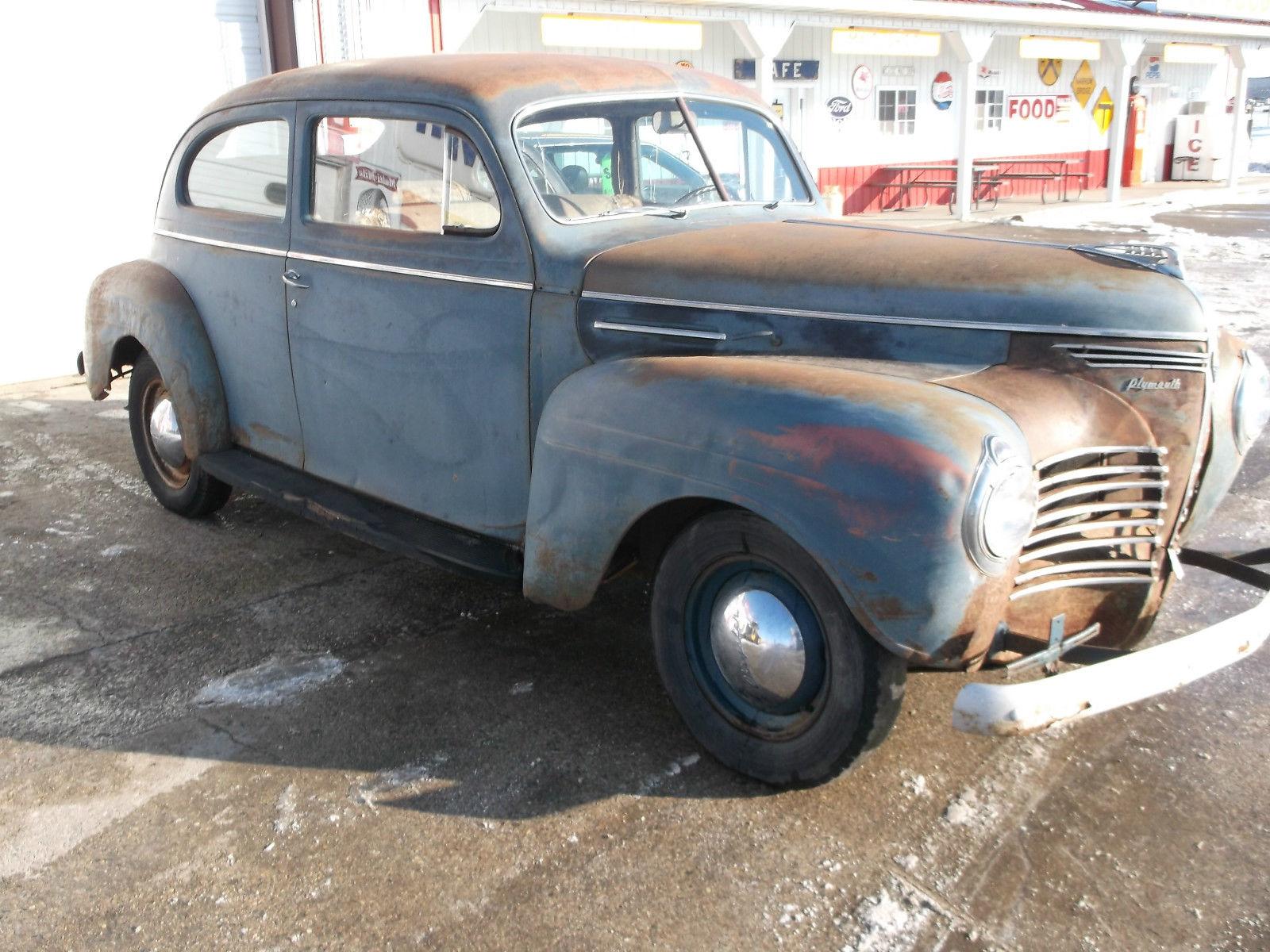 1940 plymouth 2 door sedan garage find 2 owner car for 1940 plymouth 2 door sedan