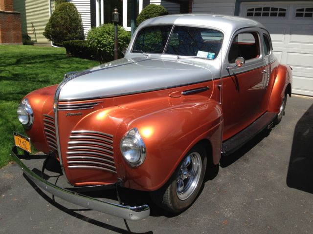 1940 Plymouth Business Coupe Streetrod Classic Plymouth