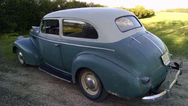 1940 pontiac silver streak 2 door sedan street rod rat rod for 1940 pontiac 2 door sedan
