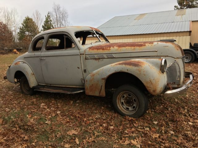 1940 Pontiac Sport Coupe Barn Find Hot Rod Gasser Or Rat