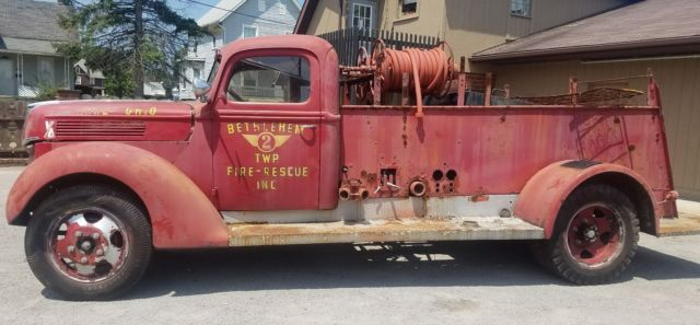 Used Cars For Sale Springfield Mo >> 1940 Seagrave Ford Fire Truck.. great restoration project.. NO RESERVE.. - Classic Ford Other ...