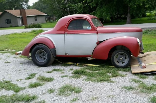 1940 Willys Gasser Drag Car Time Capsule 1960 S All Over