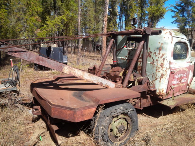 Tow Truck Saskatoon >> 1940s Dodge Powerwagon - Carryall - Tow Truck - Rat Rod - Classic Dodge Power Wagon 1940 for sale
