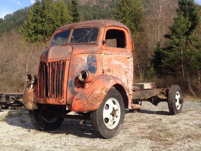 1941 1942 1946 1947 Ford Coe Cabover Cab Amp Chassis Chevy