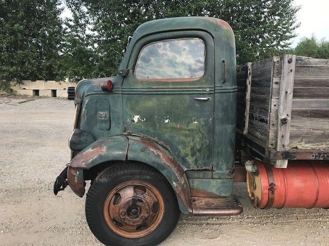 Ford Coe Cabover Dump Truck Flathead V Ratrod No Reserve