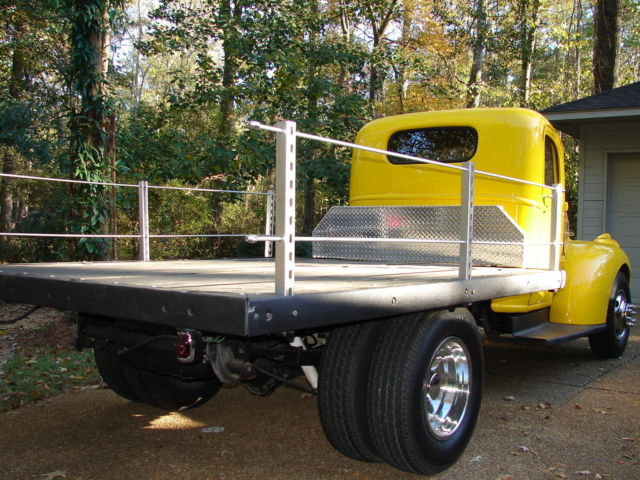 1941 1946 Chevy Chevrolet Truck Pickup Flatbed Cabover COE ...