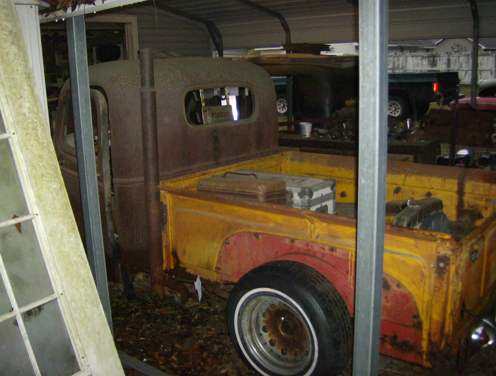 1941 1953 Chevrolet Rat Rod Hot Barn Find Pickup Project 40s 1942 Chevy Truck Patina Prevnext