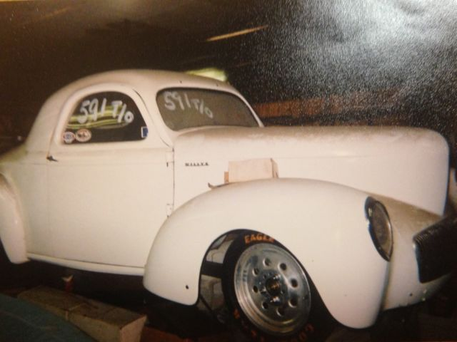 1941 42 Steel Willys Coupe 1937 1938 1939 1940 Project