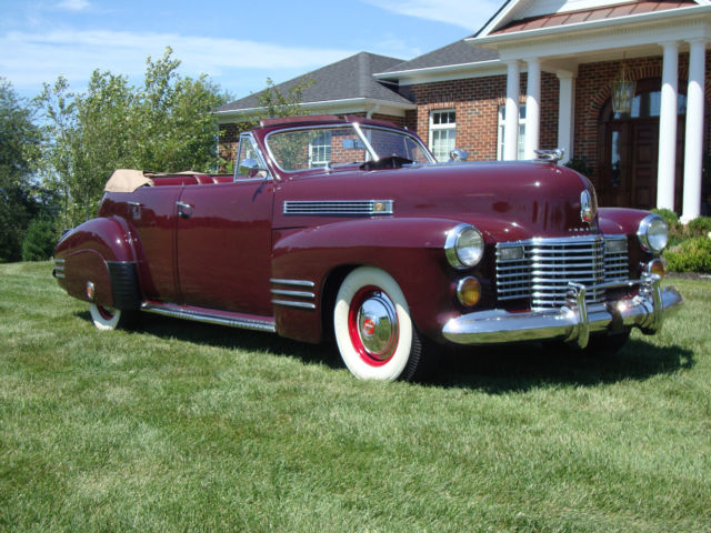 1941 cadillac series 62 4 door convertible beautifully. Black Bedroom Furniture Sets. Home Design Ideas