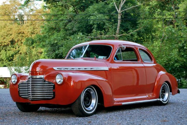 1941 Chevrolet 2 Door Business Coupe Hot Rod Mild Kustom