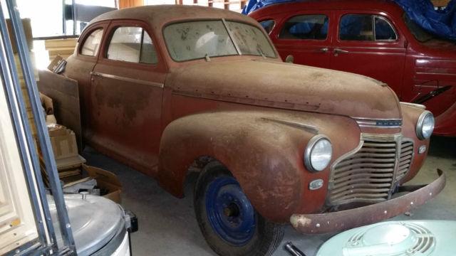 1941 Chevrolet Master Deluxe 5 Passenger 2 Door Coupe