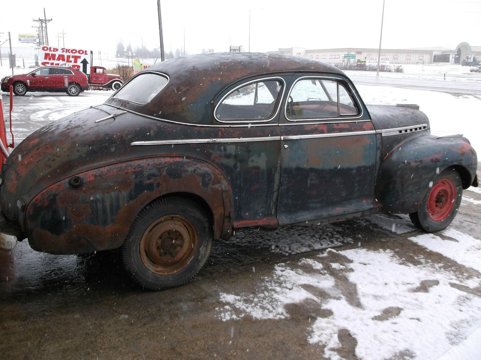 1941 Chevrolet Special Deluxe Coupe 2 Door Great Project Car Or Rat Plymouth Rod