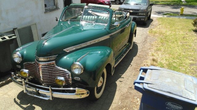 1941 Chevy Convertible 1937 1938 1939 1947 1948