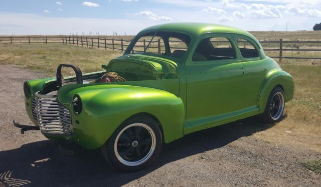 1941 Chevy Coupe - C4 Corvette suspension - Classic