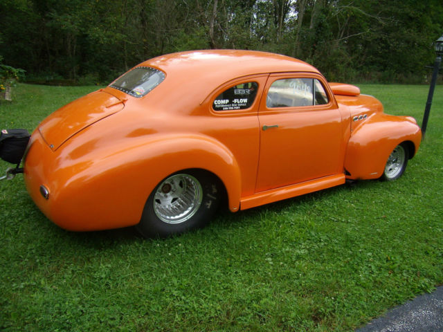 1941 Chevy Coupe Custom Retired From Racing Can Be