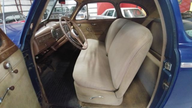 1941 chevy master deluxe 6 cly 2 door coupe original interior drive or restore classic. Black Bedroom Furniture Sets. Home Design Ideas