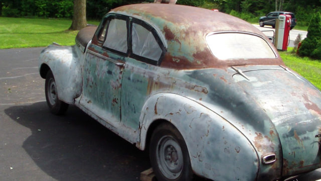 1941 Chevy Special Deluxe Coupe Street Rod Project