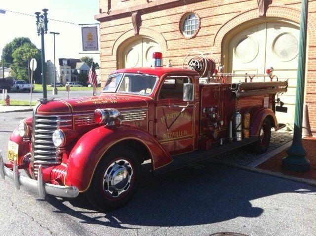 1941 Diamond T Fire Truck Classic Other Makes Fire Truck