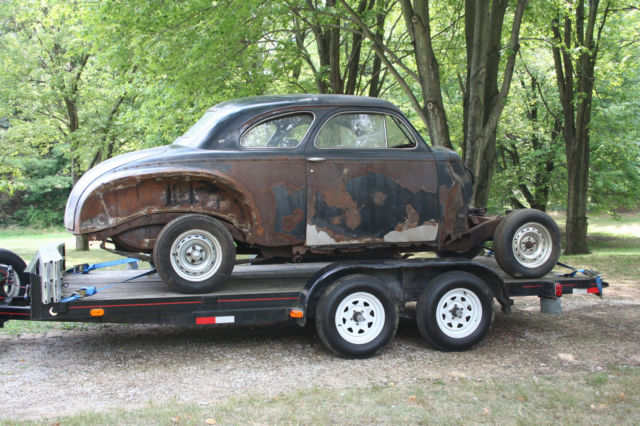1941 dodge 5 window coupe revised with list of new items