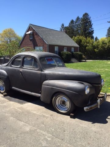 1941 ford business coupe barn find hot rod rat rod project classic gasser classic ford. Black Bedroom Furniture Sets. Home Design Ideas