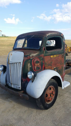Cabover Trucks For Sale >> 1941 FORD COE CAB OVER SNUBNOSE TRUCK: 99.99% RUST FREE! TOPKICK RAT ROD KUSTOM - Classic Ford ...