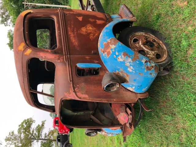 Ford Coe Project Cab And Chassis Rare Cab Over Engine Hotrod Rat Rod on Ford Flathead V8 Crate Engine For Sale