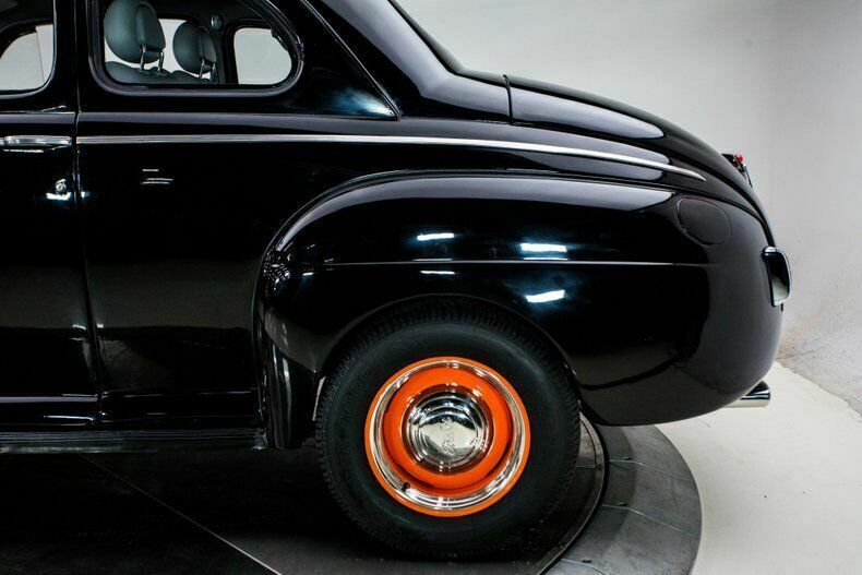 1941 Ford Deluxe V8 5 7l Automatic 3 Speed Coupe Black