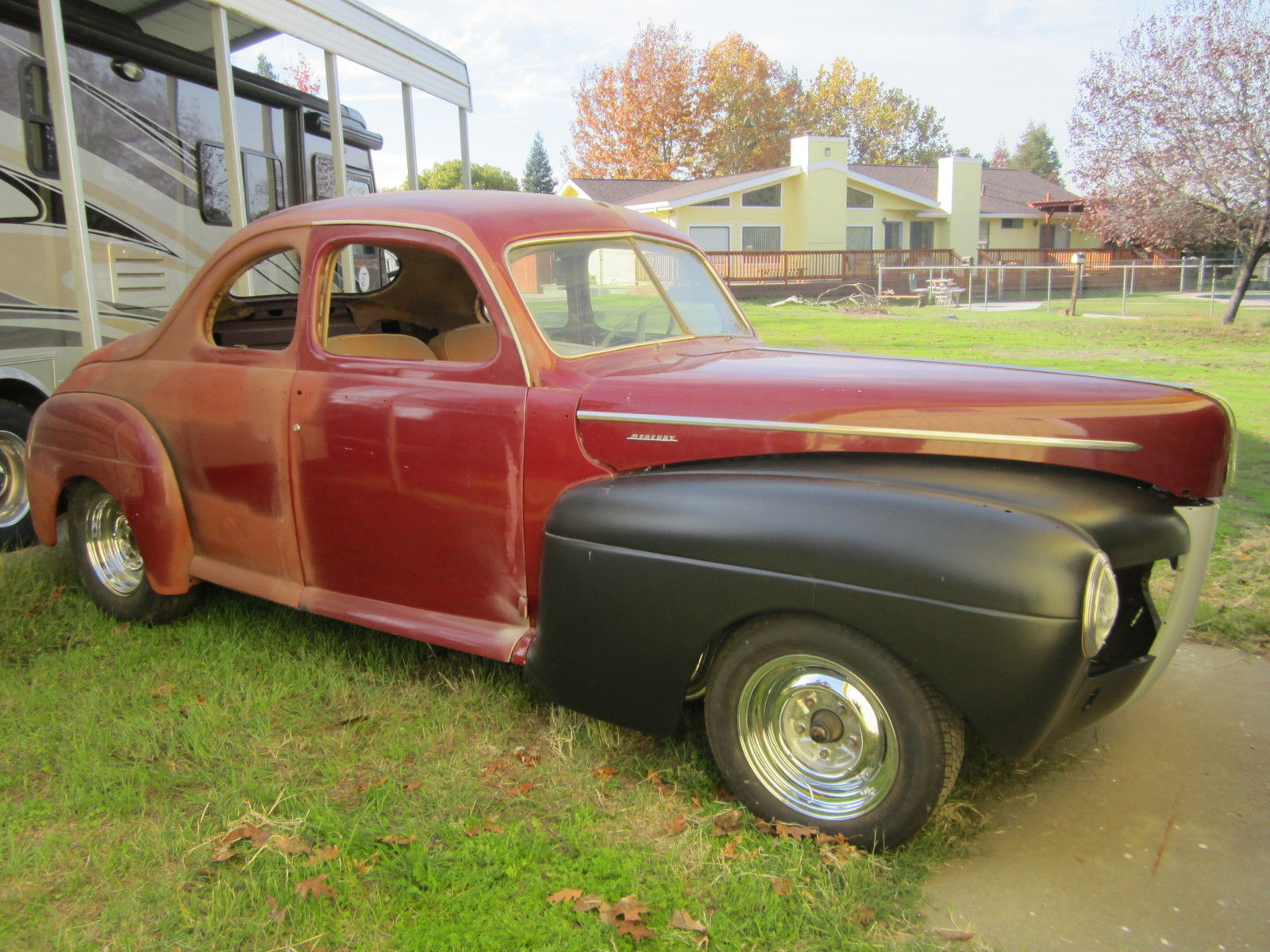 1941 ford mercury hot rod coupe classic mercury other 1941 for sale. Black Bedroom Furniture Sets. Home Design Ideas