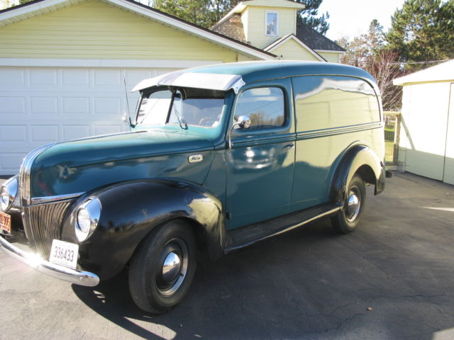 1941 Ford Panel Truck Classic Ford Other Pickups 1941
