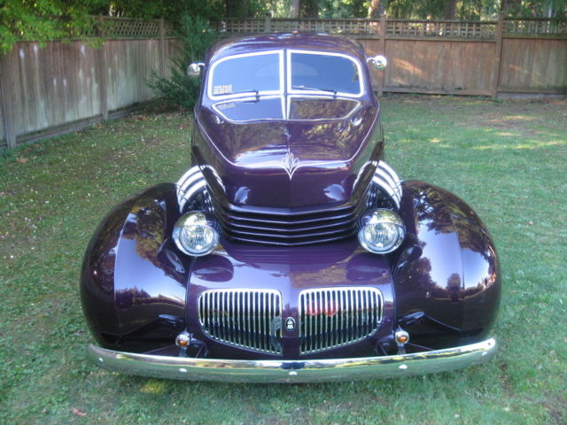 "Used Cars Langley >> 1941 Graham Hollywood Sedan Streetrod ""Cord Coffin hood ..."