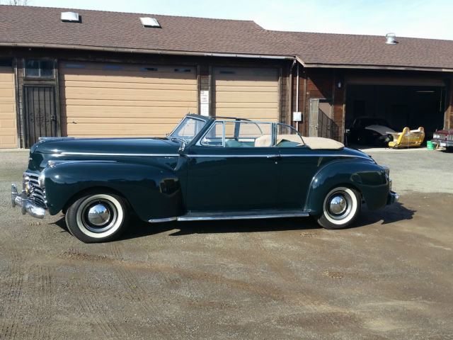 1941 NewYorker Convertible for sale by second owner
