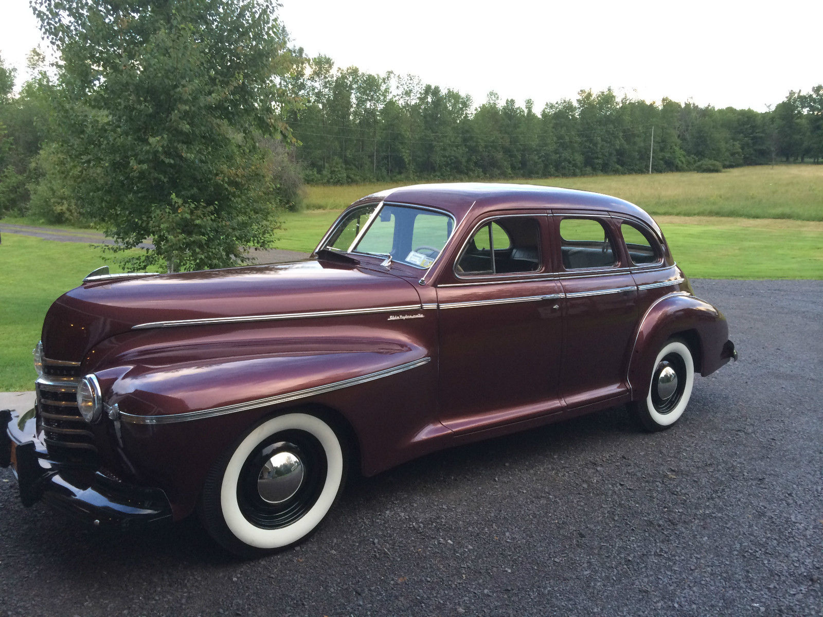 1941 oldsmobile special 66 4 door sedan classic
