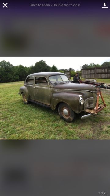1941 plymouth 2 door sedan classic plymouth other 1941 for 1941 plymouth deluxe 4 door