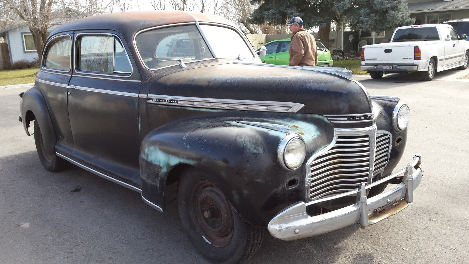 1941 chevy special deluxe vin location 1941 free engine for 1938 ford deluxe 2 door sedan