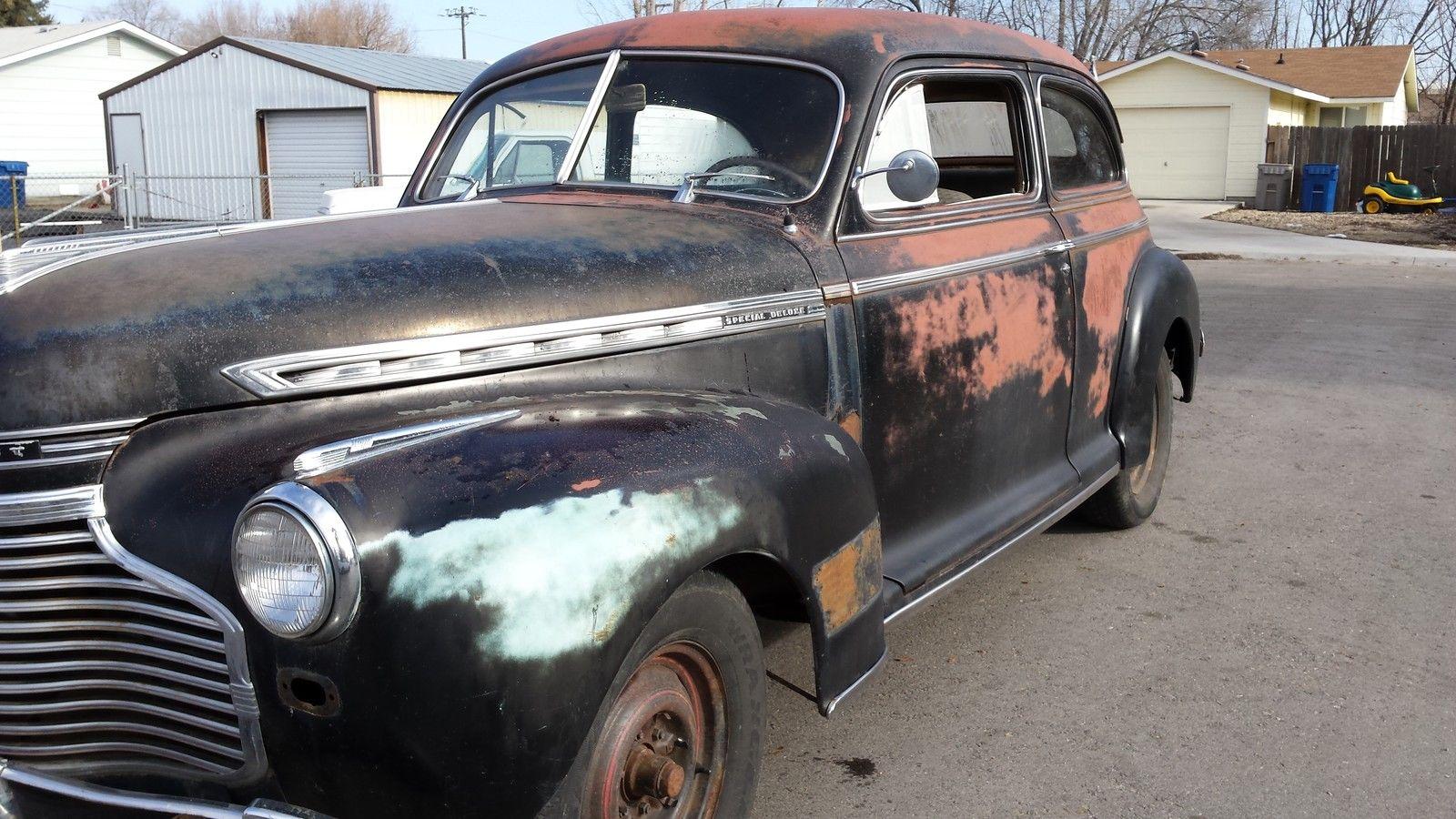 1941 Special Deluxe 2 Door Sedan Completely Original