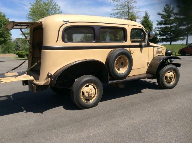 1941 Wc 10 Carryall Power Wagon 4x4 Runs And Drives