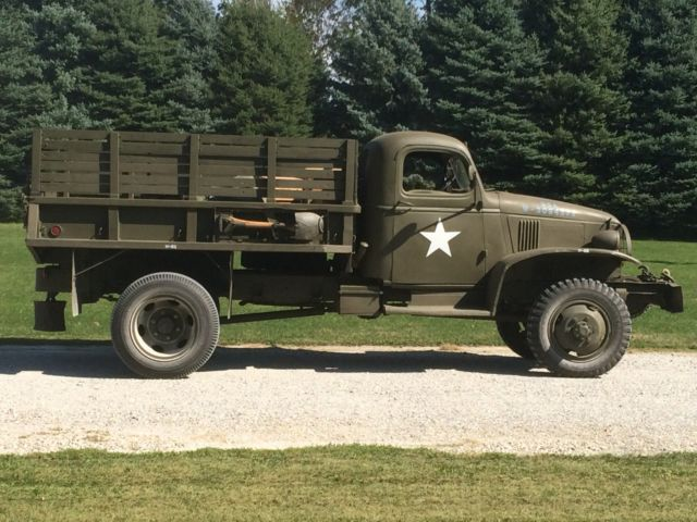 1942 Chevrolet G506 G7117 Cargo With Winch Ww2 Military