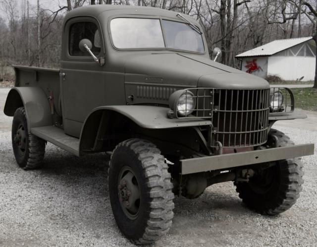 Used Tires Columbus Ohio >> 1942 Dodge WC12 4x4 WWII Power Wagon Restored RARE Truck ...