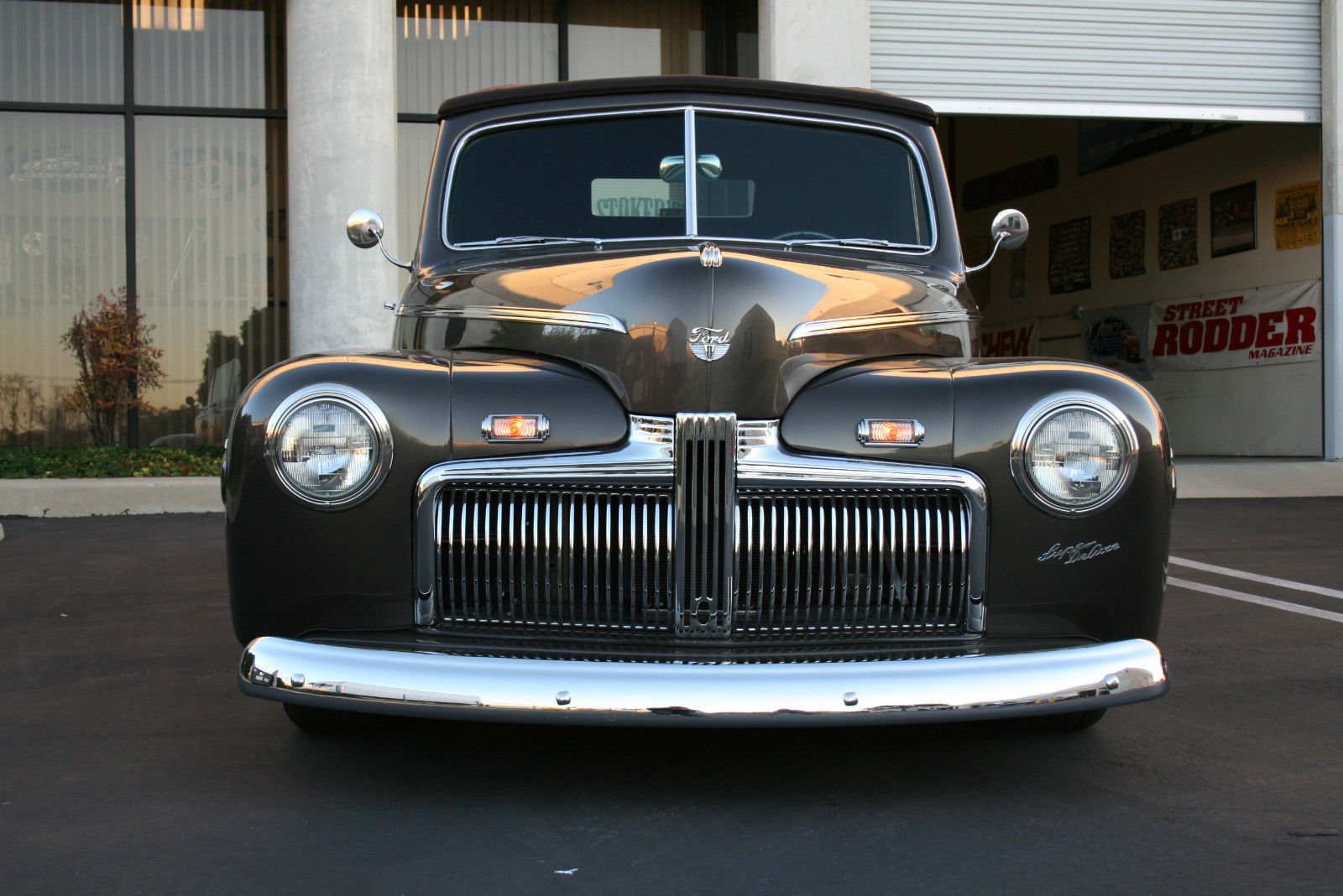 1942 Ford Deluxe Convertible Street Rod 1940 1941 1946 1947 1948 Chevy Coupe Prevnext