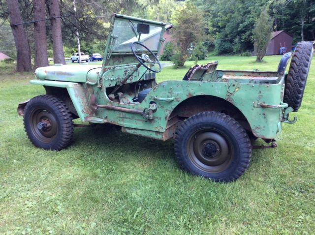 1942 Ford Gpw Script Military Army Jeep Willys Mb Classic Ford Other