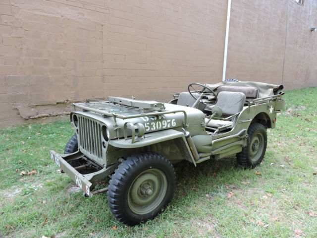 1942 ford gpw willys mb jeep super nice only 5k mi accessories no reserve classic willys. Black Bedroom Furniture Sets. Home Design Ideas