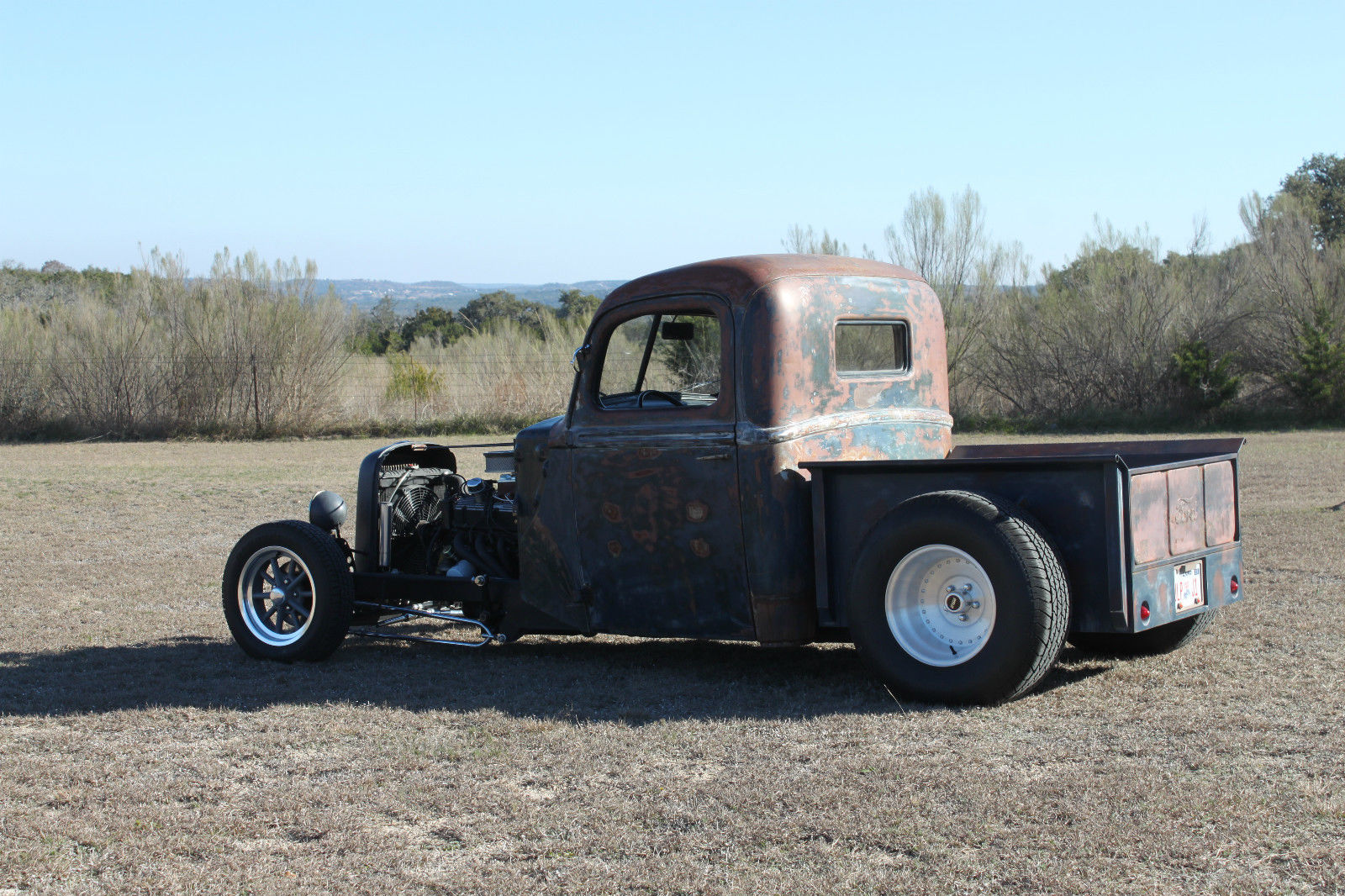 Ford Pickup Rat Rod 1942 Chevy Coe Truck Photos Of